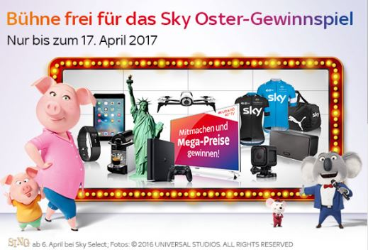 sky ostergewinnspiel 2017 infos tipps tolle preise. Black Bedroom Furniture Sets. Home Design Ideas