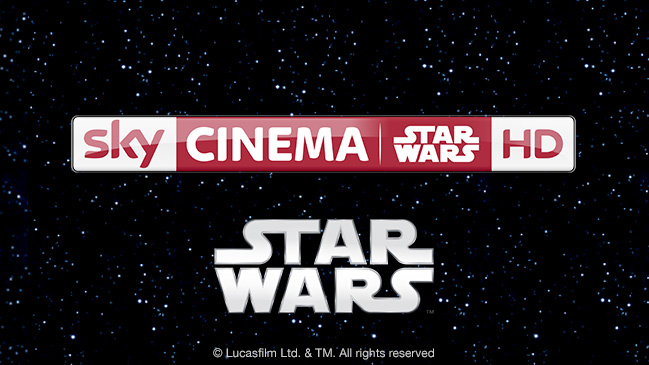 Sky Cinema STAR WARS HD Sender ab 28.08.