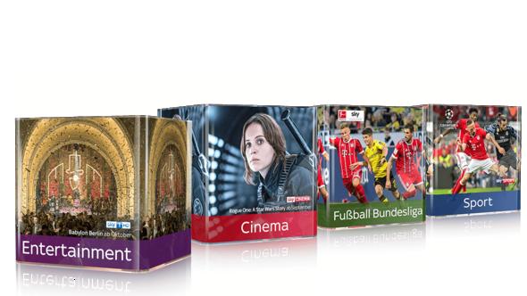 Beendet: Sky Komplett Angebot mit gratis 55 Zoll LED UHD-TV für 59,99€
